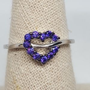 Jewelry - Sterling Silver Heart Shape Ring